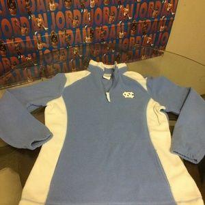 North Carolina Tar Heels 1/4 Zip Sweatshirt Womens